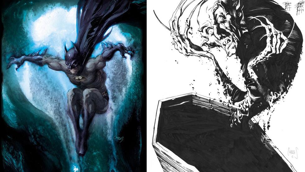 Batman y Nosferatu
