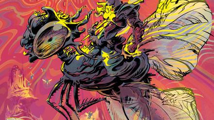 Cubierta de Transcrepuscular, cómic de Jordi Pastor