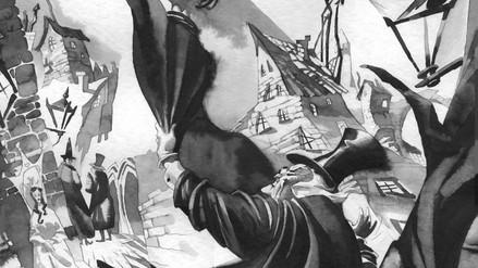 Caligari, tinta