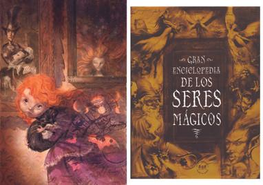 Coraline y Enciclopedia de los seres mágicos