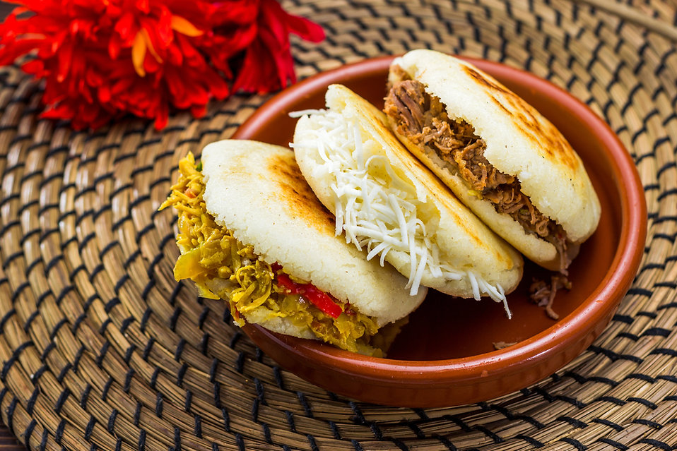 Flamingo Latin Foods - arepas