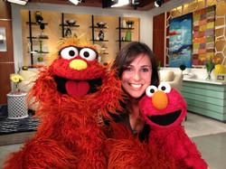 With Elmo