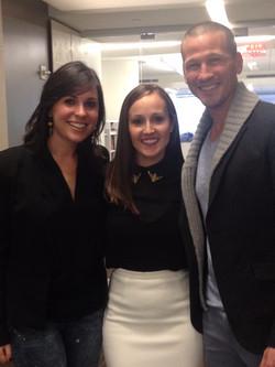 With J.P. & Ashley Rosenbaum