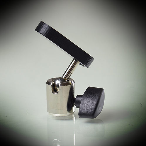 Magnetic mic stand adaptor for Abox, iPad e.t.c.