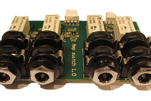 4 Channel Amp Switch Board