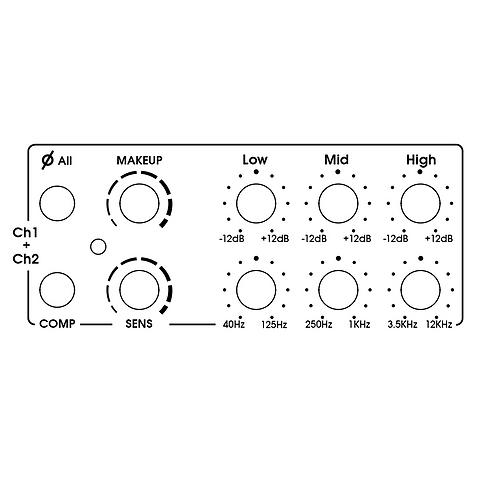 Optical Compressor And Mix Parametric EQ View