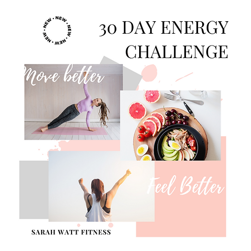 30 Day Energy Booster Challenge!