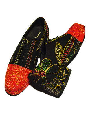 Nakshi Kantha Shoes