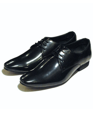 Classic Black patent leather formal shoes