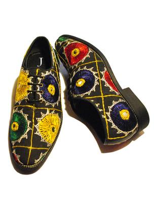 Vintage Textile Shoes