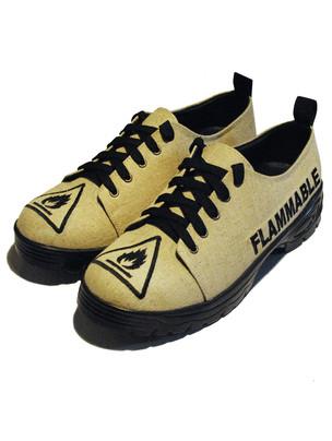 Flammable Jute Shoes