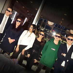 Cool Team in sunglasses