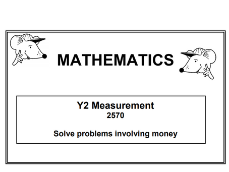 Problem solving (Year 1 or 2)