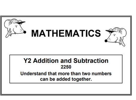Year 2 addition and subtraction