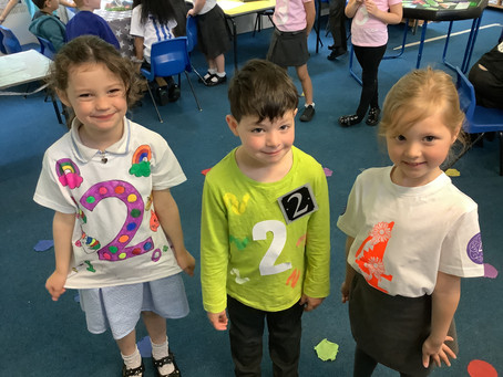Number day in EYFS