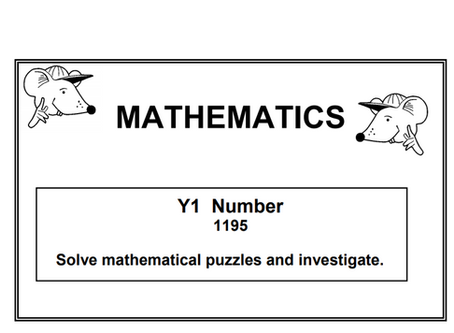 Year 1 Maths Puzzles Pack