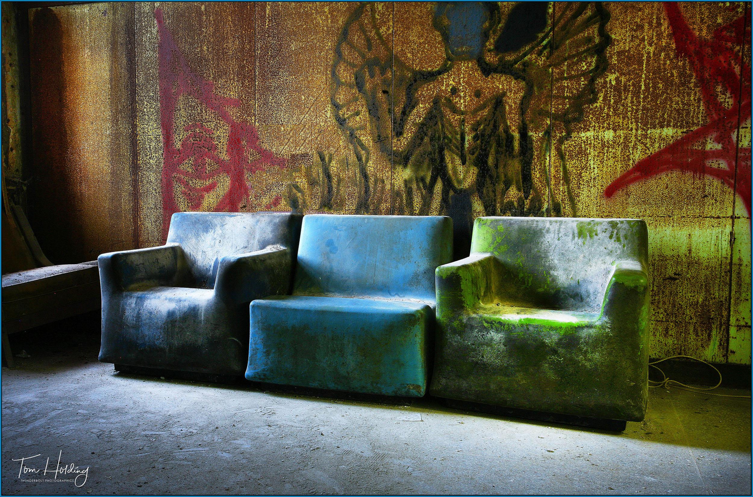 Pennhurst -3 Chairs