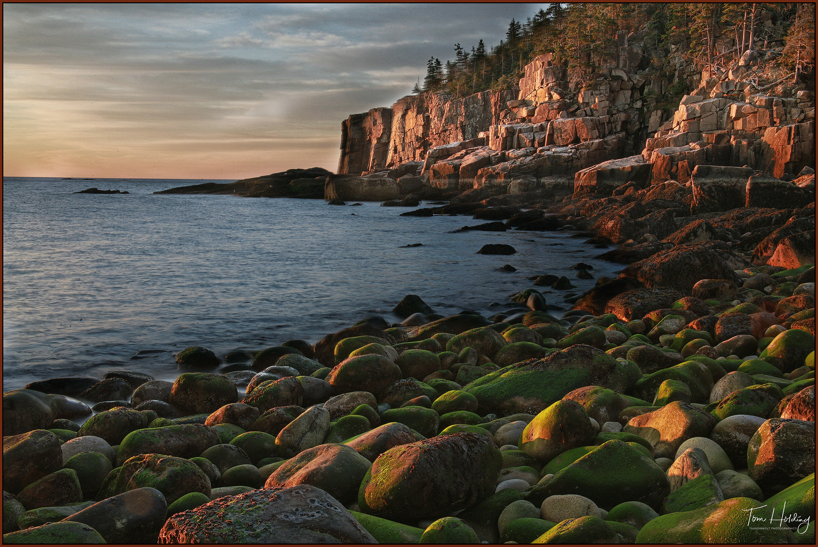 Sunrise - Otter Cliffs