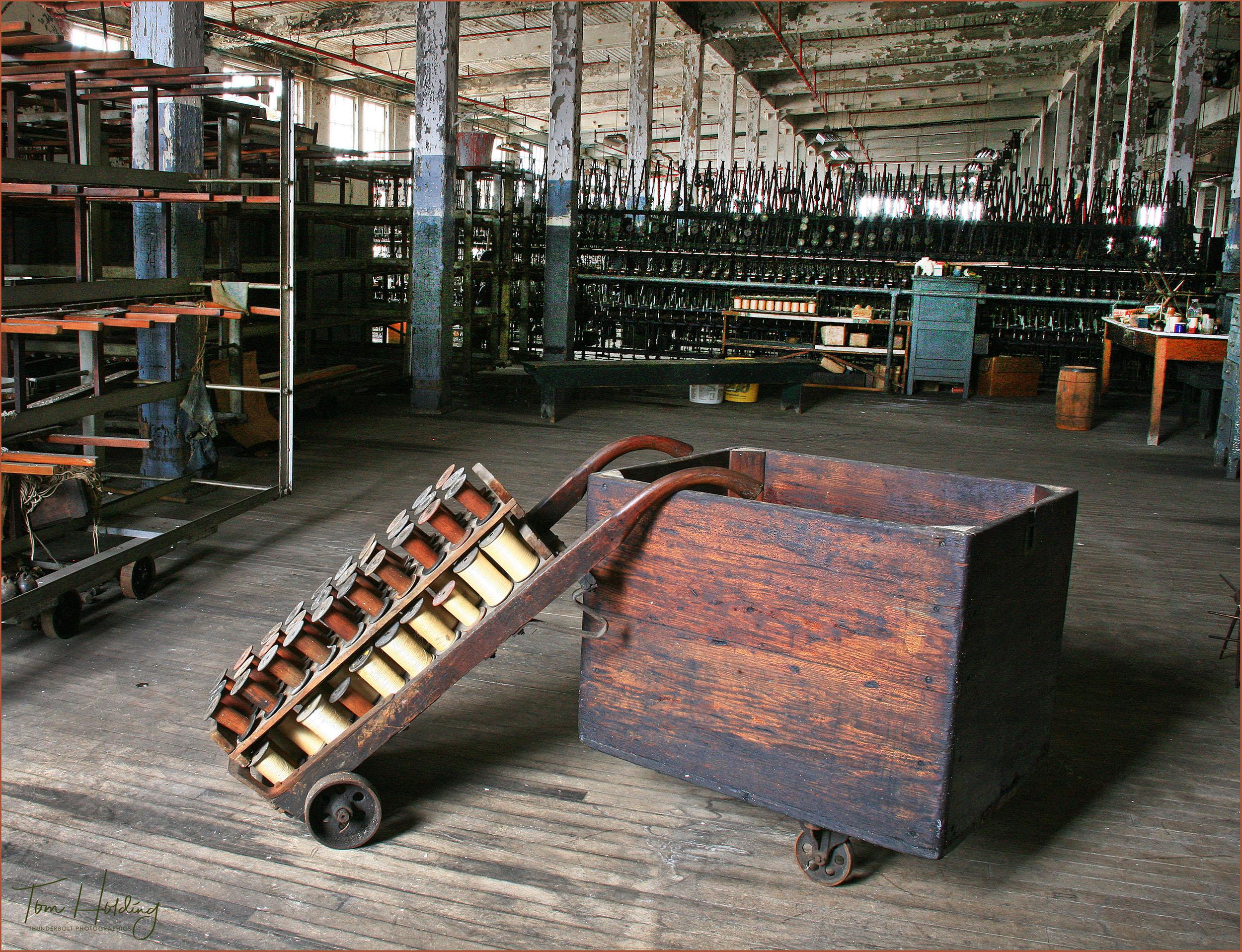 Lonaconing Silk Mill Interior