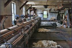 Waterside Woolen Mill Interior