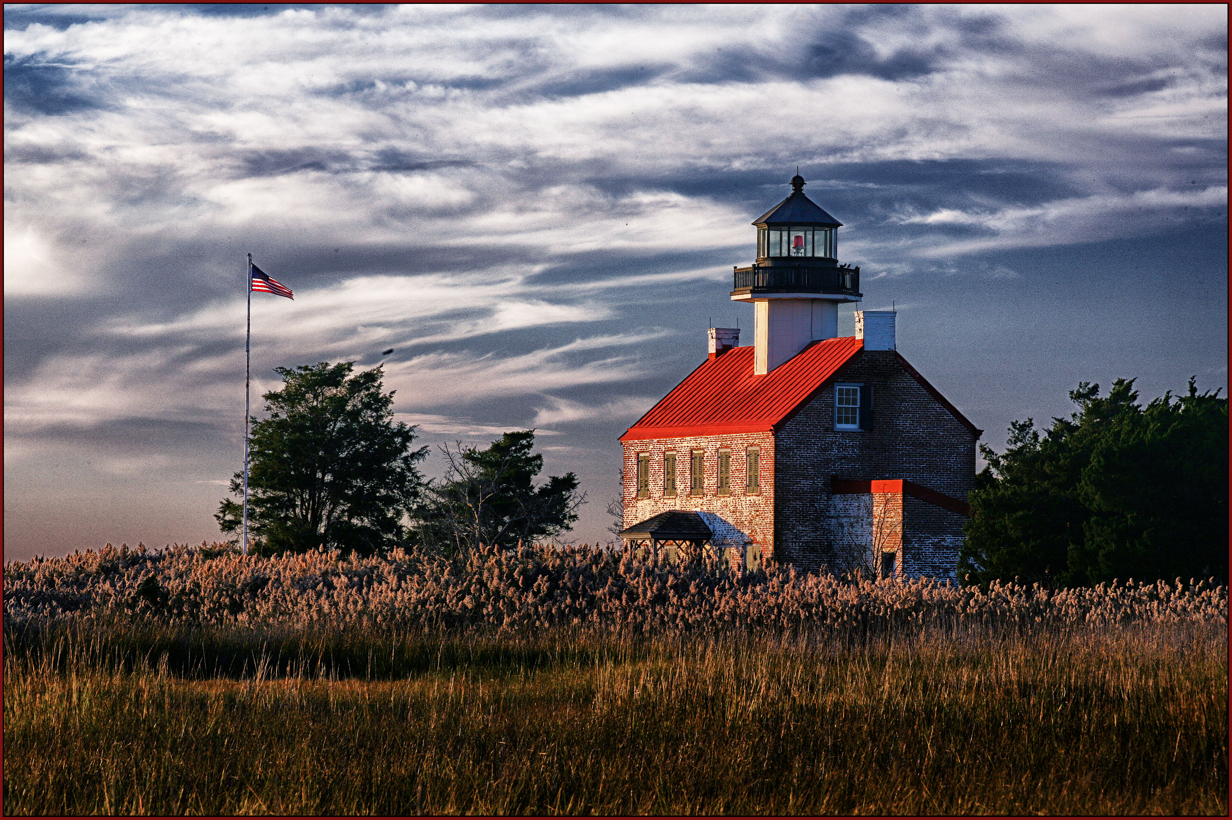 End of the Day - Eastpoint Lighthouse