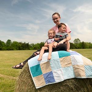 Scarlett & Oldham Hay Roll Photos