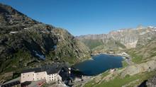 Stage d'aquarelle en pleine montagne    Col du Grand Saint-Bernard , Suisse