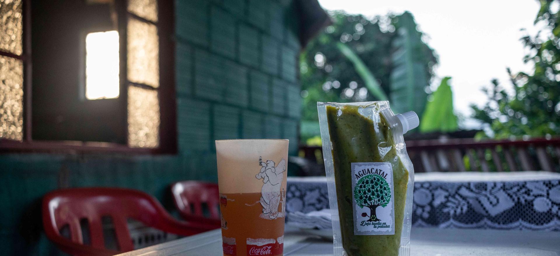 El aguacatal: una receta única