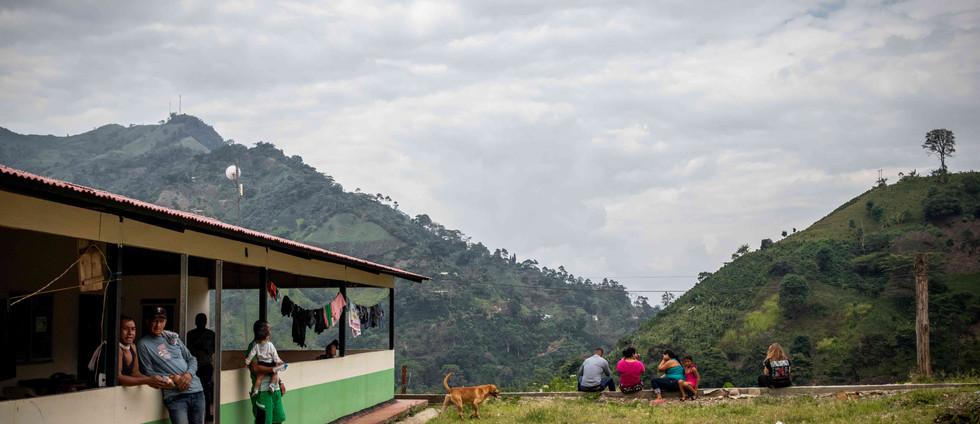 En busca de un lugar en Colombia