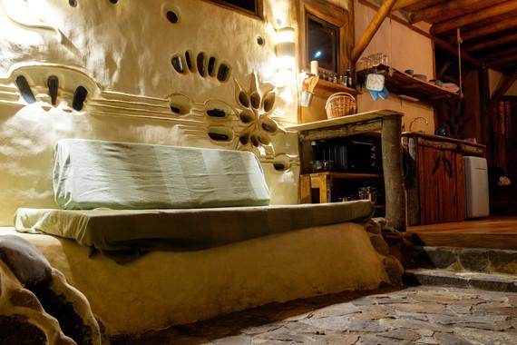 Eco House - Main Room