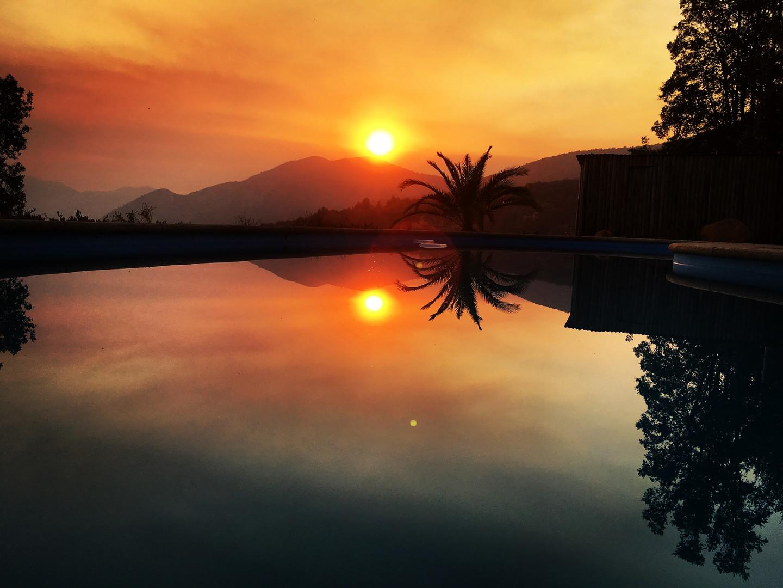 Simming Pool - Sunset