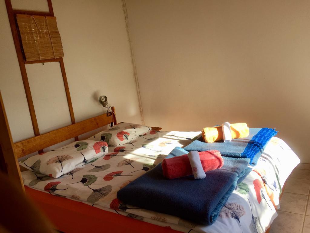 Wood Cabin - Bedroom