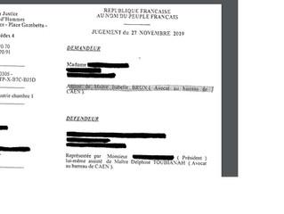 CPH CAEN - Section Industrie - 27 novembre 2019 (n°18/00305) : le Conseil de prud'hommes de Caen