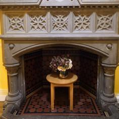 Our Beautiful Original Fireplace