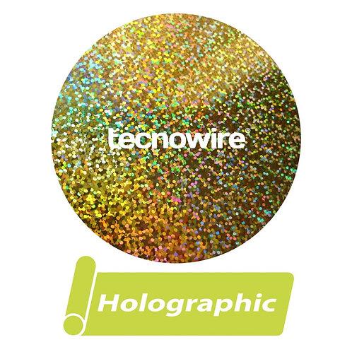 Vinil T�rmico Textil Siser Hologr�fico Gold