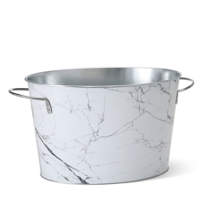 Faux marble wine tub