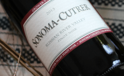 Sonoma_Cutrer Pinot Noir Wine Bottle