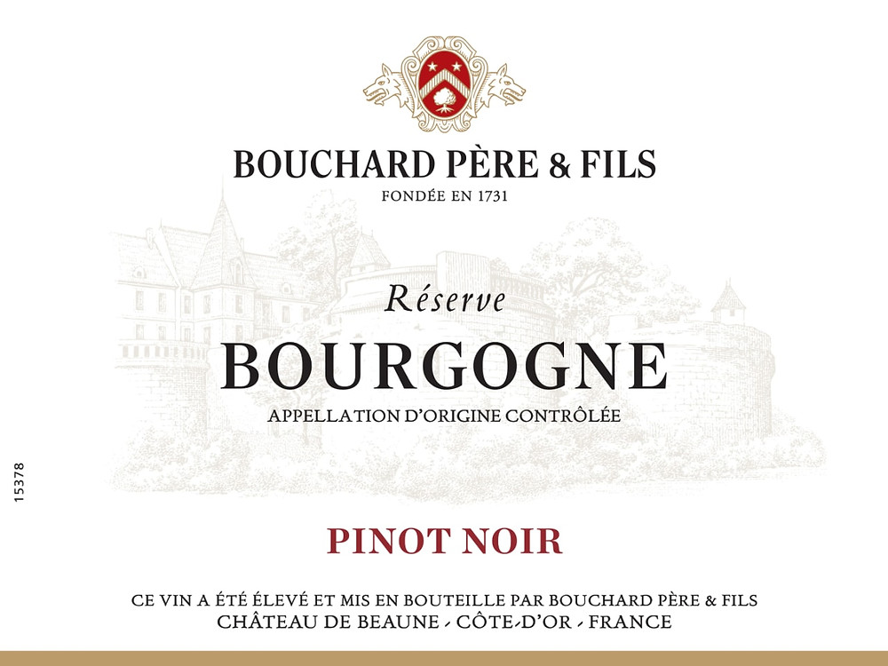 Regional wine label
