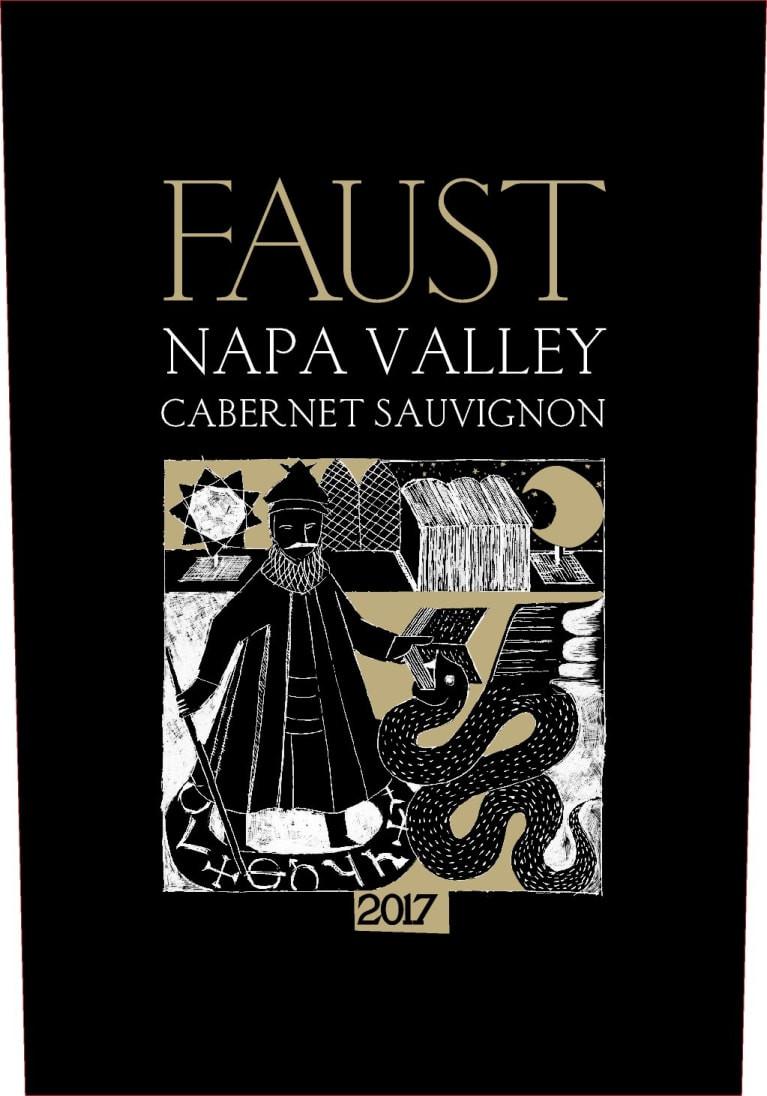 Faust Cabernet Sauvignon wine label