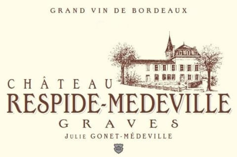 Chateau Respide Medeville wine label