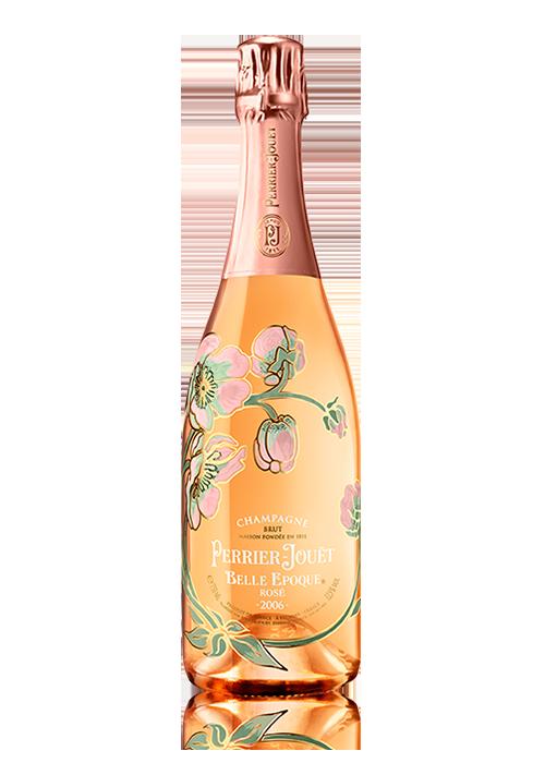 Bottle of Perrier Jouet Belle Epoque Rose