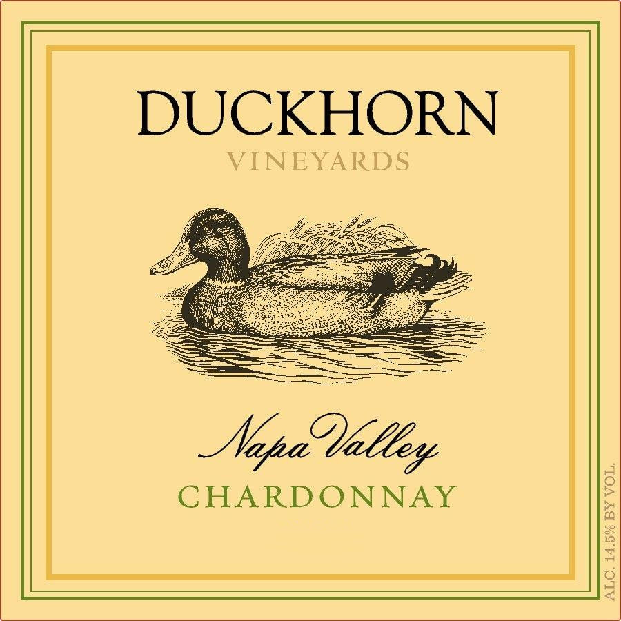 Duckhorn Chardonnay wine label