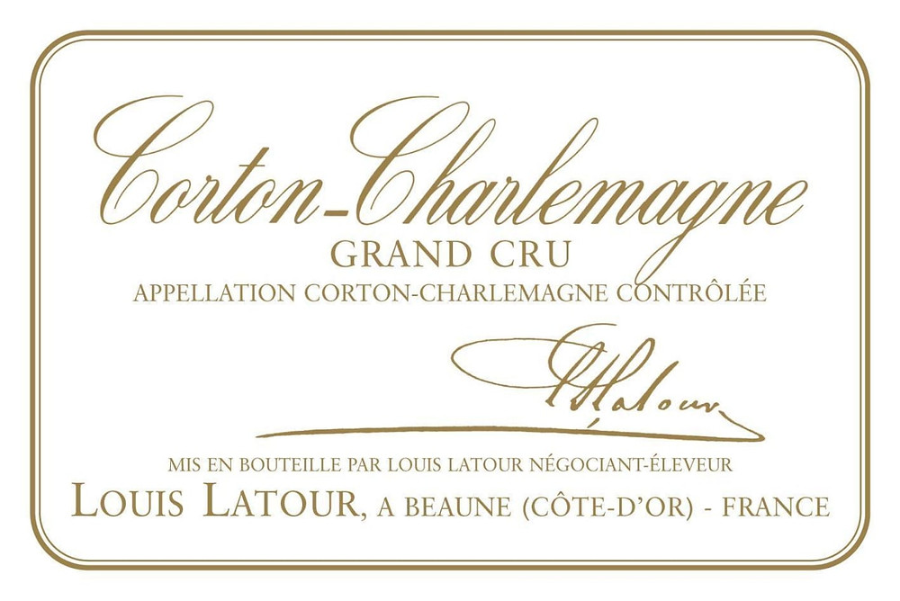 Grand Cru wine label