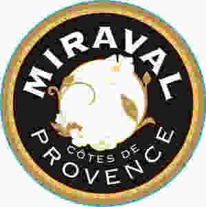 Miraval Cotes de Provence wine label