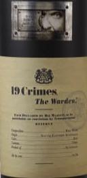 19 Crimes The Warden wine label.