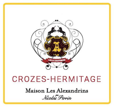 Crozes-Hermitage Maison Les Alexandrins wine label