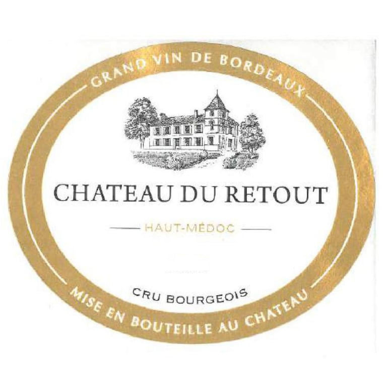 Chateau Du Retout Bordeaux - Haut Medoc - wine label