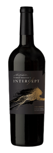 Bottle of Intercept wine.