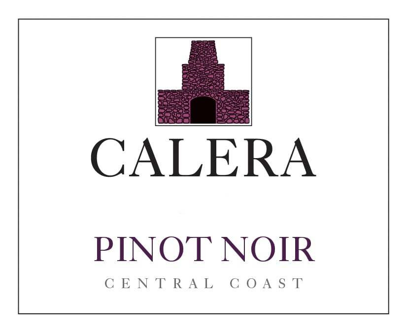 Calera Pinot Noir  wine label