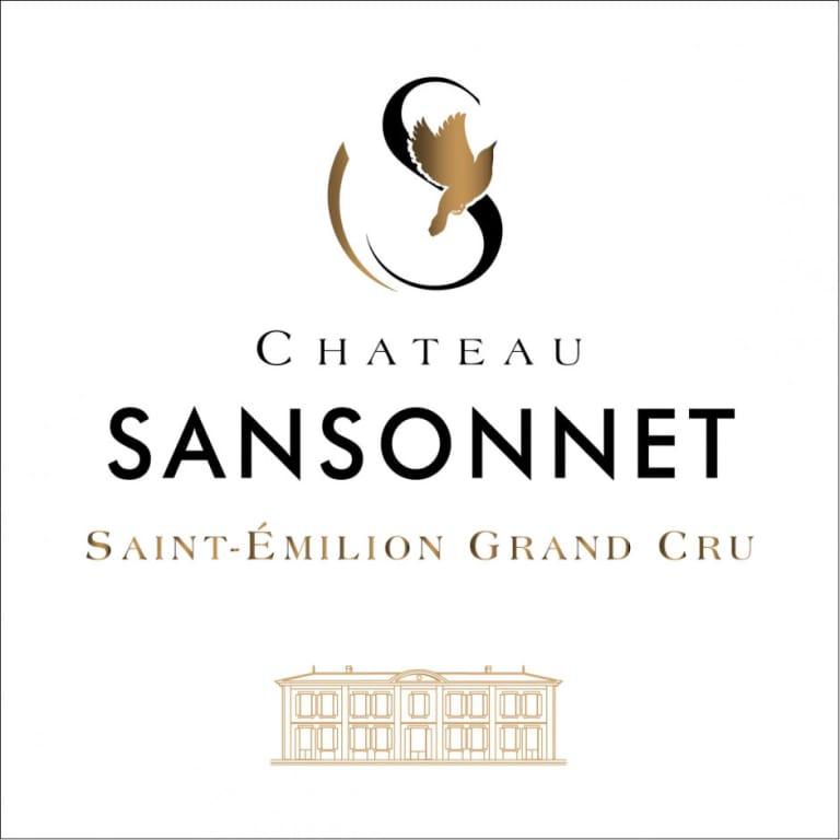 Chateau Sansonnet 2014, St-Emilion Grand Cru wine label